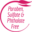 Paraben, Sulfate & Pthalate Free